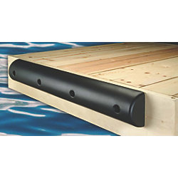 "Medium Flat Back Heavy Duty Dock Bumpers - 7-1/4"" Height"