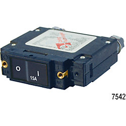 15A C1 FLAT ROCKER CIRCUIT BREAKER IP