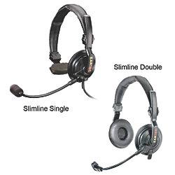 SLIMLINE DOUBLE HEADSET F/ TD 900