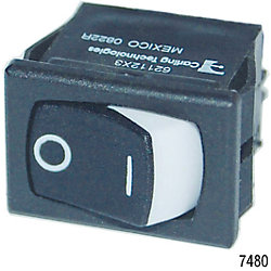 SPST 360 ROCKER SWITCH ON/OFF