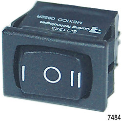 SPDT 360 ROCKER SWITCH (ON)/OFF/(ON)