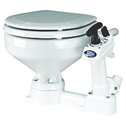 COMPACT TWIST N LOCK MANUAL TOILET