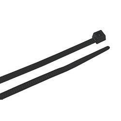 14.5IN NYLON CABLE TIE BLACK (100)