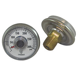 300 PSI LPG REPLACEMENT GAUGE X 1/4