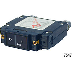 60A C1 FLAT ROCKER CIRCUIT BREAKER IP