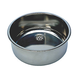 ROUND SS SINK MIRROR 14.2INX 5.9IN