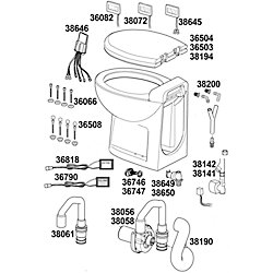 FLUSH WATER INLET SERVICE KIT