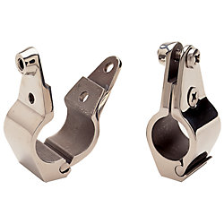 1IN S.S. RAILING CLAMP HINGED