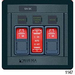 24V 2 BANK REMOTE CONTROL PANEL