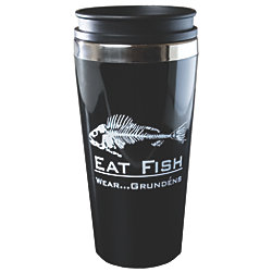 Eat Fish Travel Mug