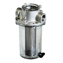 1/2IN SS STRAINER W/SS BASKET