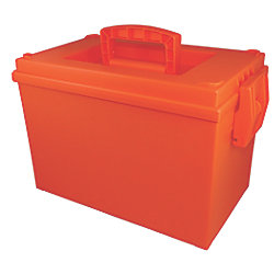 Orange Ammo Box