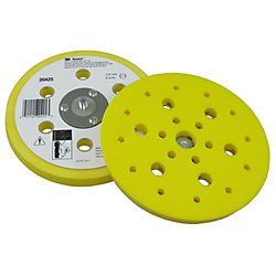 6IN CLEAN SAND HOOKIT SOFT PAD 5/16-24