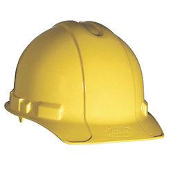 YEL XLR8 4-PT HARD HAT