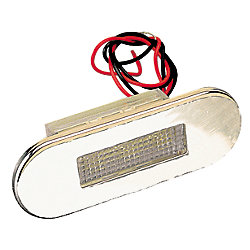 STAINLESS LED COURTESY LIGHT, RED