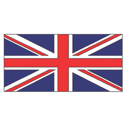 12X18IN UNITED KINGDOM FLAG NYL-GLO