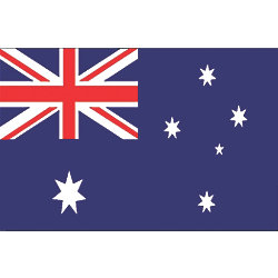 12X18IN AUSTRALIA FLAG NYL-GLO