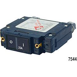 25A C1 FLAT ROCKER CIRCUIT BREAKER IP