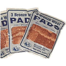MEDIUM BRONZE WOOL (3-PK)