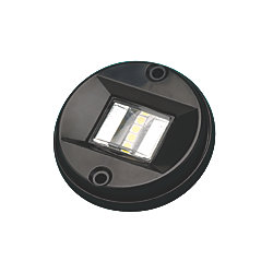 BLACK TRANSOM LIGHT LED