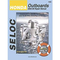 HONDA, ALL 1-6CYL 2-225 HP 2002-08
