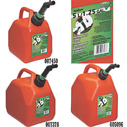 5 GAL CARB JERRY CAN, RED