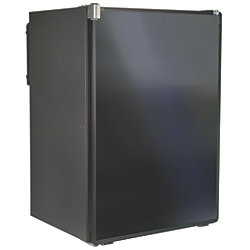 3.1 CU FT AC/DC REFR/FREEZER BLACK