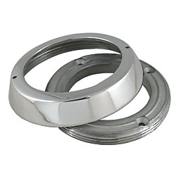 Cowl Vent Securing Collar and Deck Ring Set - Stainless Steel 316