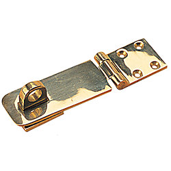BRASS HEAVY DUTY HASP 4-1/4
