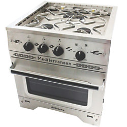 Mediterranean Propane Cookstove and Oven