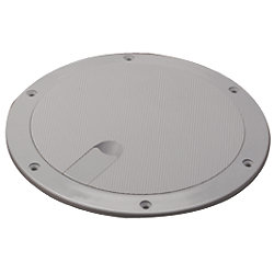 "ABS DECK PLATE GRAY 8"" TEXTURE LID"