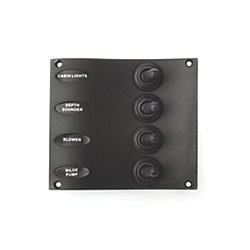 NYLON SWITCH PANEL 4 TOGGLES