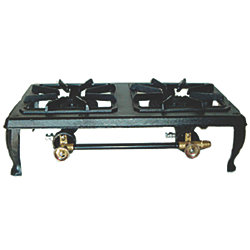 DOUBLE BURNER LPG STOVE
