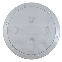 Screw-Out Deck Plate - Dimpled Plate