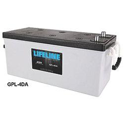 12V 4D AGM Deep Cycle Batteries - 210 Ah, 1100 CCA