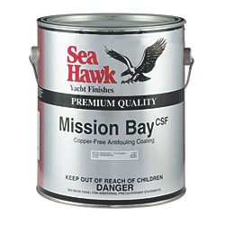 Mission Bay CSF Ablative Antifouling Paint