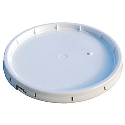3.5GA/5GA WHT TEAR STRIP GASKETED LID