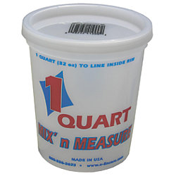 QT MIX N MEASURE GRADUATED PAIL
