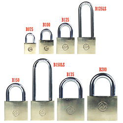 3/4IN BRASS KEYED PADLOCK