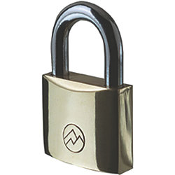 3/4IN BRASS KEYED-ALIKE PADLOCK