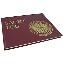YACHT LOG (HARD COVER)