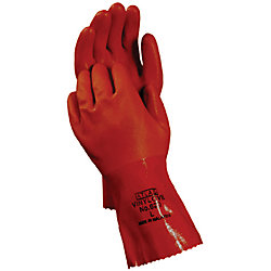 XL ATLAS VINYL GLOVE ALLPURP- RUST