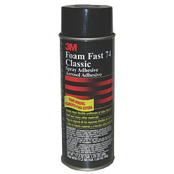 24OZ FOAM FAST 74 SPRAY ADHESIVE