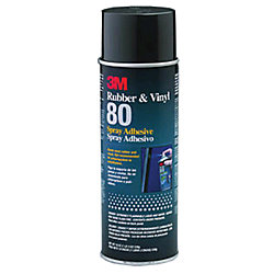 19OZ YEL RUBBER & VYL 80 SPRAY ADHESIVE
