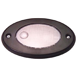 5.5IN BLACK OVAL RECESS LIGHT 5W 12V