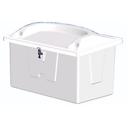 SEAT TOP DOCK BOX 72IN WX29INDX29INH