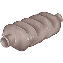 PLASTIC MUFFLER 1 9/16IN HOSE MP40
