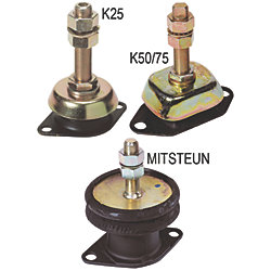 FLEXIBLE ENGINE MOUNT K25 HARD 56
