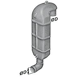 PLASTIC GOOSENECK LT60  2-3/8IN