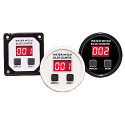 BILGE PUMP COUNTER, SQUARE